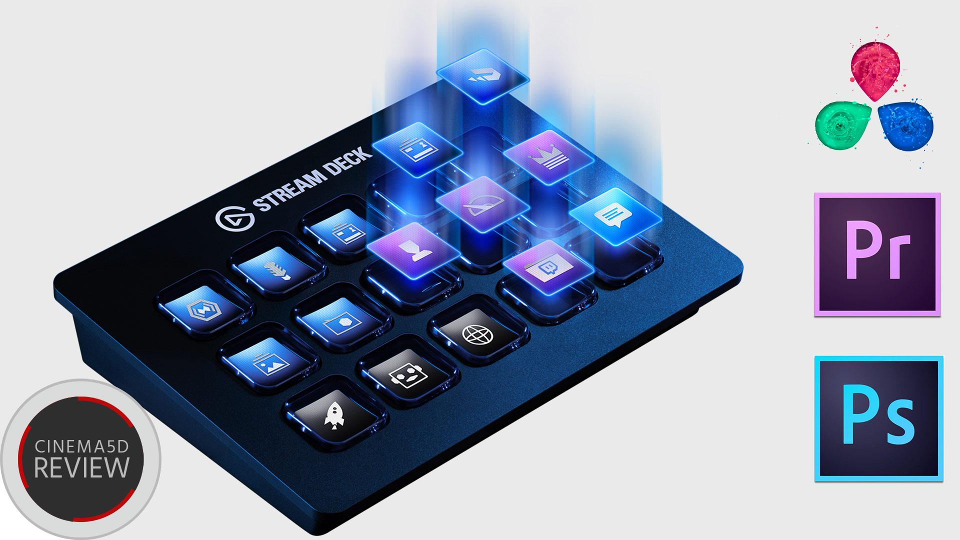 Elgato Stream Deck - アプリのワークフローを高効率化するキーボード