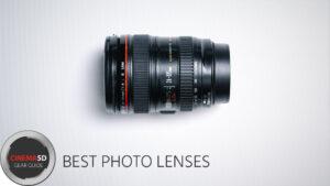 best photo lenses
