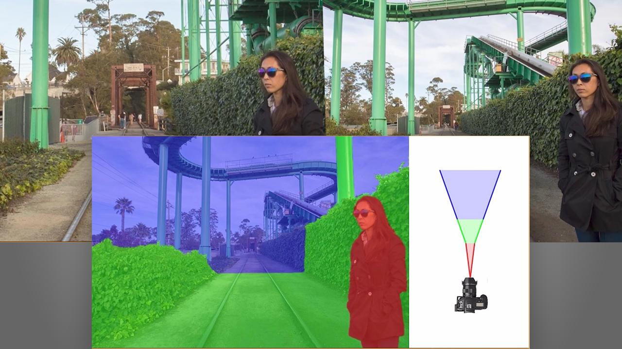 背景だけをズームするComputational Zoomとは?