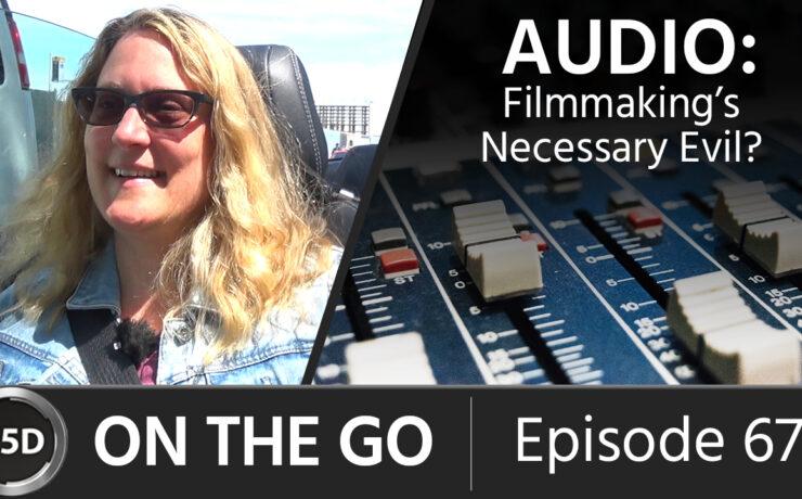 Audio: Filmmaking's Necessary Evil? – with Sound Designer Cheryl Ottenritter - ON THE GO - Episode 67