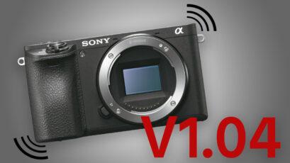 Sony a6500 Firmware Update V1.04 Improves Image Stabilisation