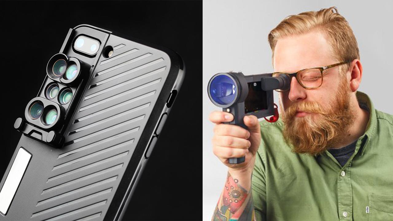 iPhoneでの撮影に差をつけるアクセサリー