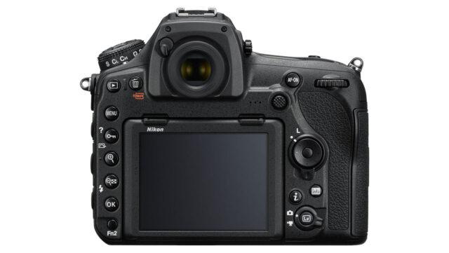 Nikon D850 - back