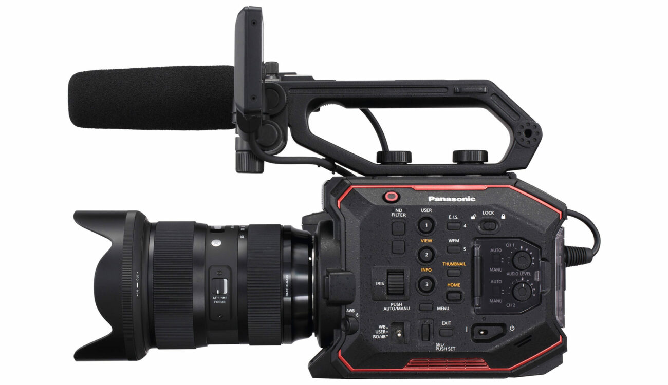 Panasonic AU-EVA1 Pricing And Full Spec Revealed - 14 Stops Dynamic Range
