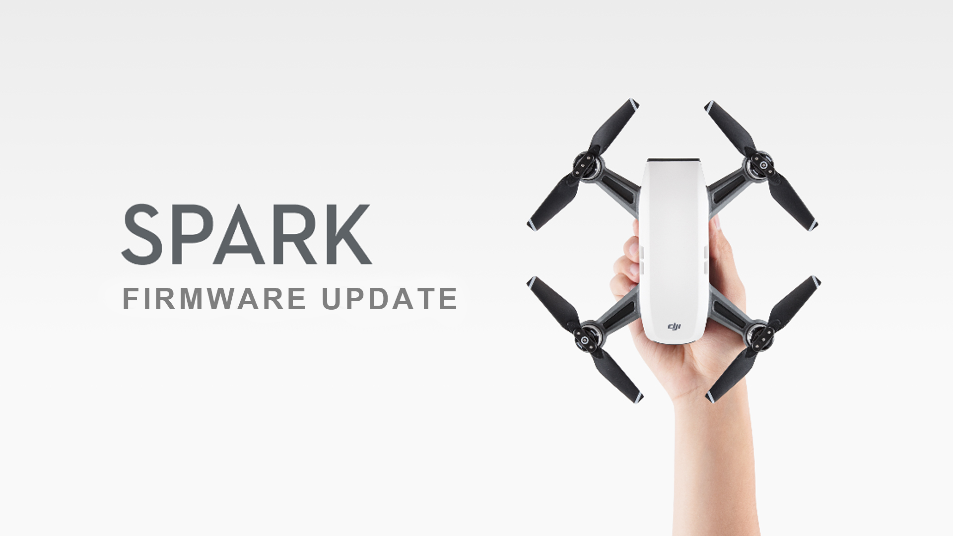 DJI Sparkファームウエアアップデート - ジェスチャーコントロールと写真画質が向上