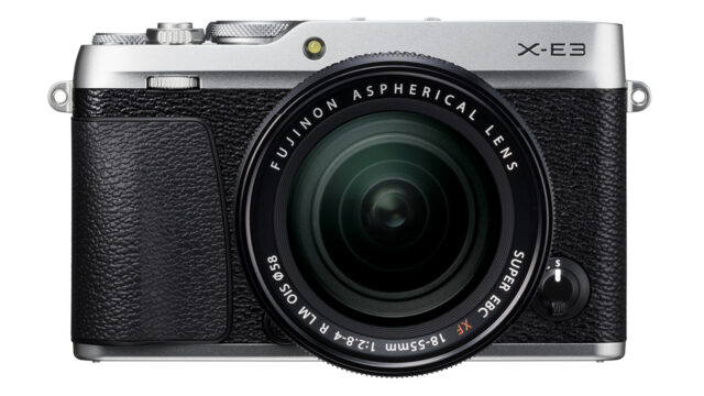 New FUJIFILM X-E3 Announced –Stylish APS-C 4K Travel Camera