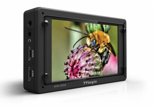TV Logic Introduce the VFM-055A – A High End 5.5″ OLED Field Monitor