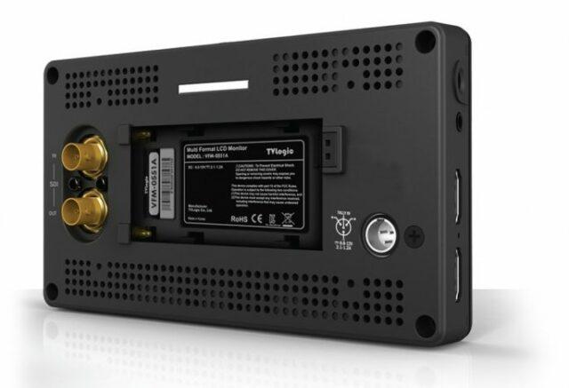 TV Logic VFM-055A Connections