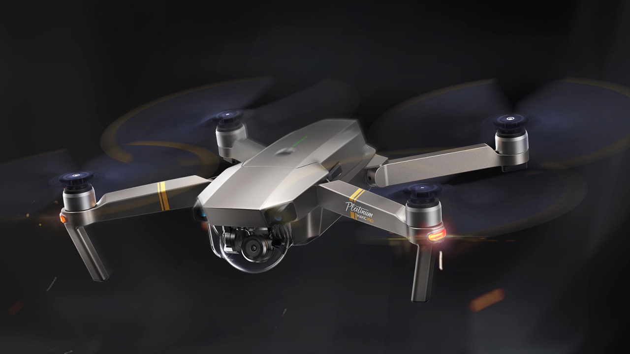 New and Improved DJI Mavic Pro Platinum Announced