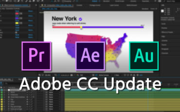 Adobe CC Update Adds additional Video Editing, Graphics and Audio Improvements