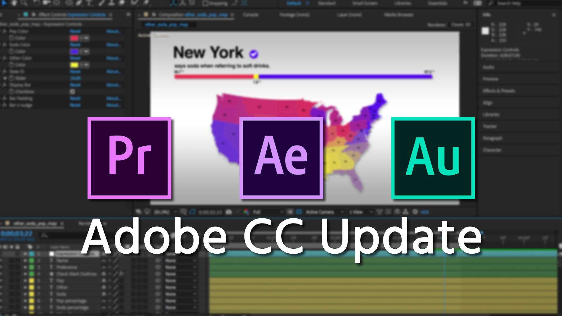 AdobeがCreative Cloudをアップデート