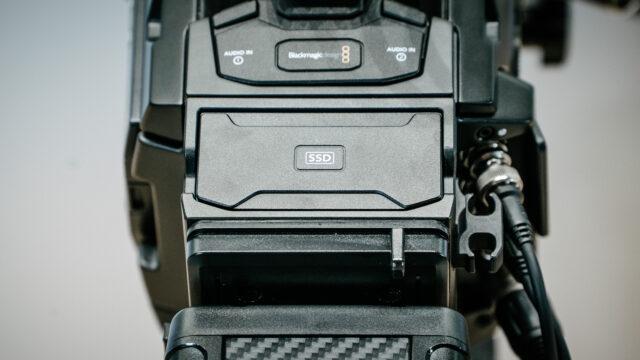 Blackmagic URSA Mini Pro Mirrored SSD Recorder Add-on