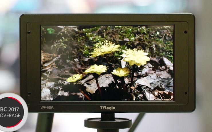 "TV Logic Introduce the VFM-055A - A High End 5.5"" OLED Field Monitor"