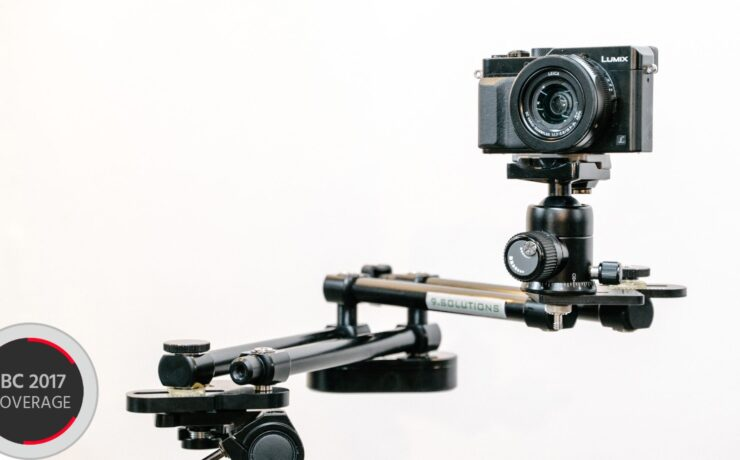 9.Solutions Mini C-Pan Arm - Slides and Curves with no Rails!