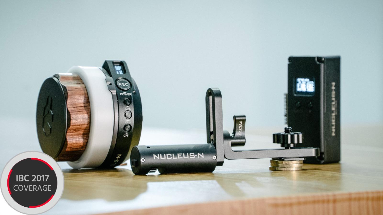 TiltaのNucleus N - 他社ジンバルでも使用できる小型リモートフォローフォーカス