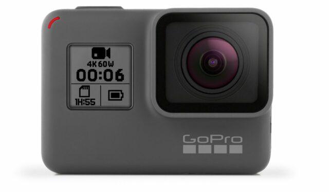 GoPro HERO6 Black Announced –  Custom Designed GP1 Processor, 4K60p and Full HD 240 FPS Capable Camera
