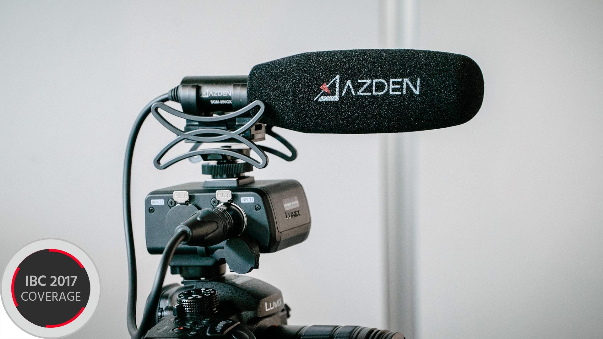 AzdenのSGM-250CX - 小型軽量のオンカメラマイクロフォン