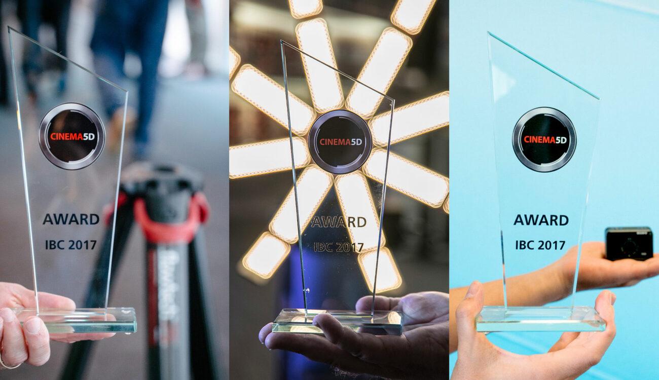 cinema5D IBC 2017 Innovation Awards - Sony RX0, Sachtler Flowtech 75, Hudson Spider Light