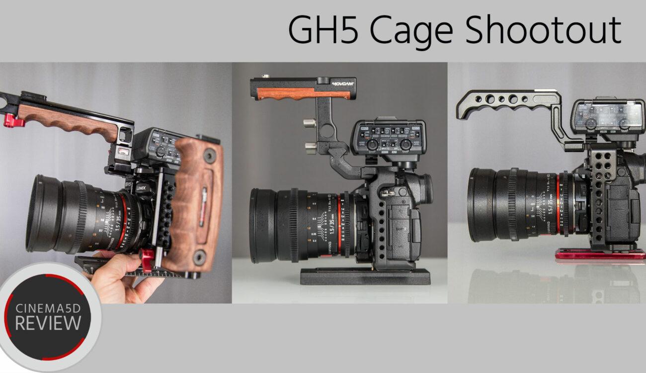 Panasonic GH5 Cage Review & Shootout - Zacuto vs. Movcam vs. Came-TV
