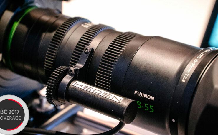Heden FUJINON MK Zoom Servo - Tailor-made Lens Control for FS5 and FS7 Smart Grip
