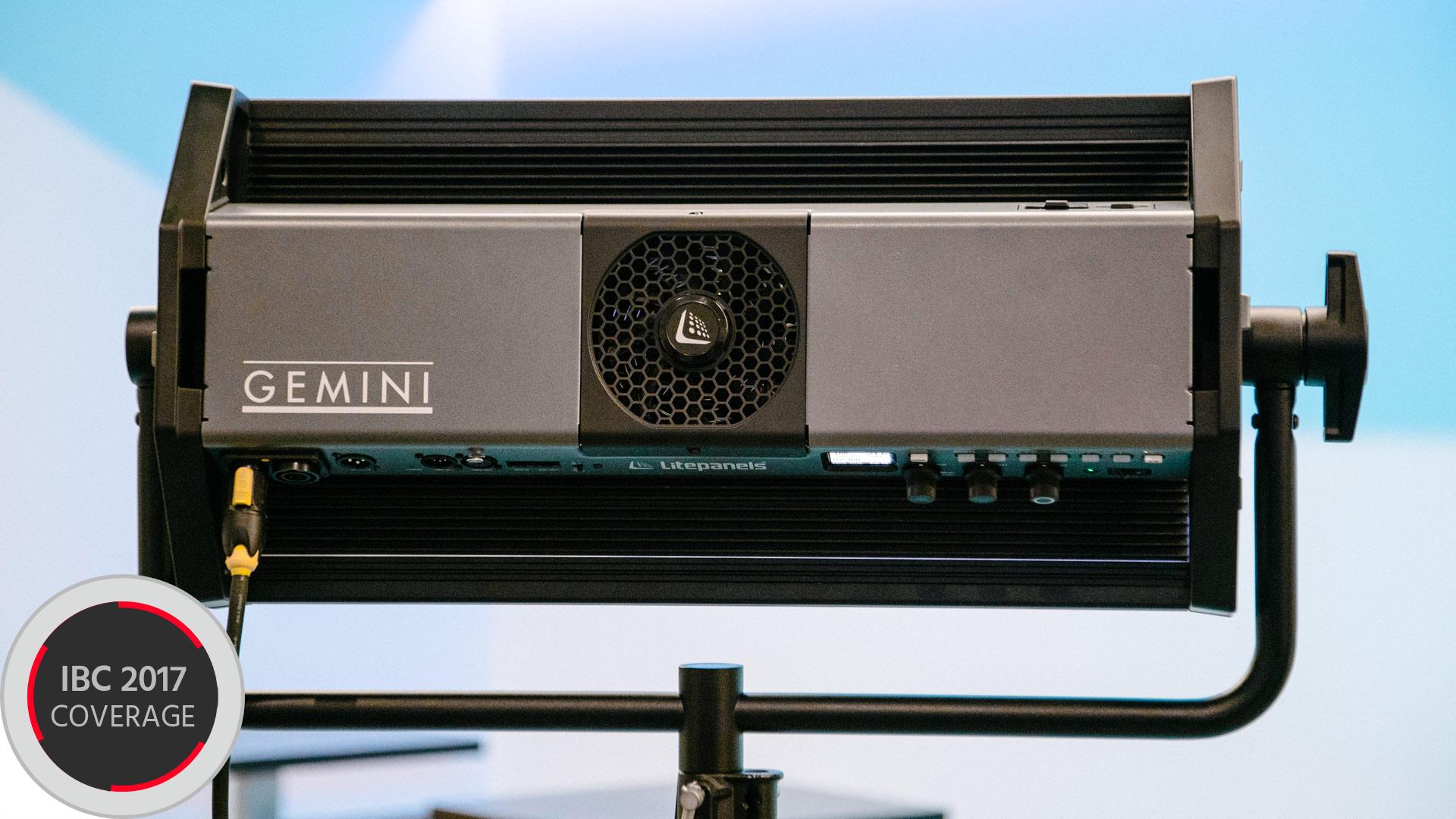 LitepanelsがGeminiを発表 - フリッカーフリーで着色光も可能