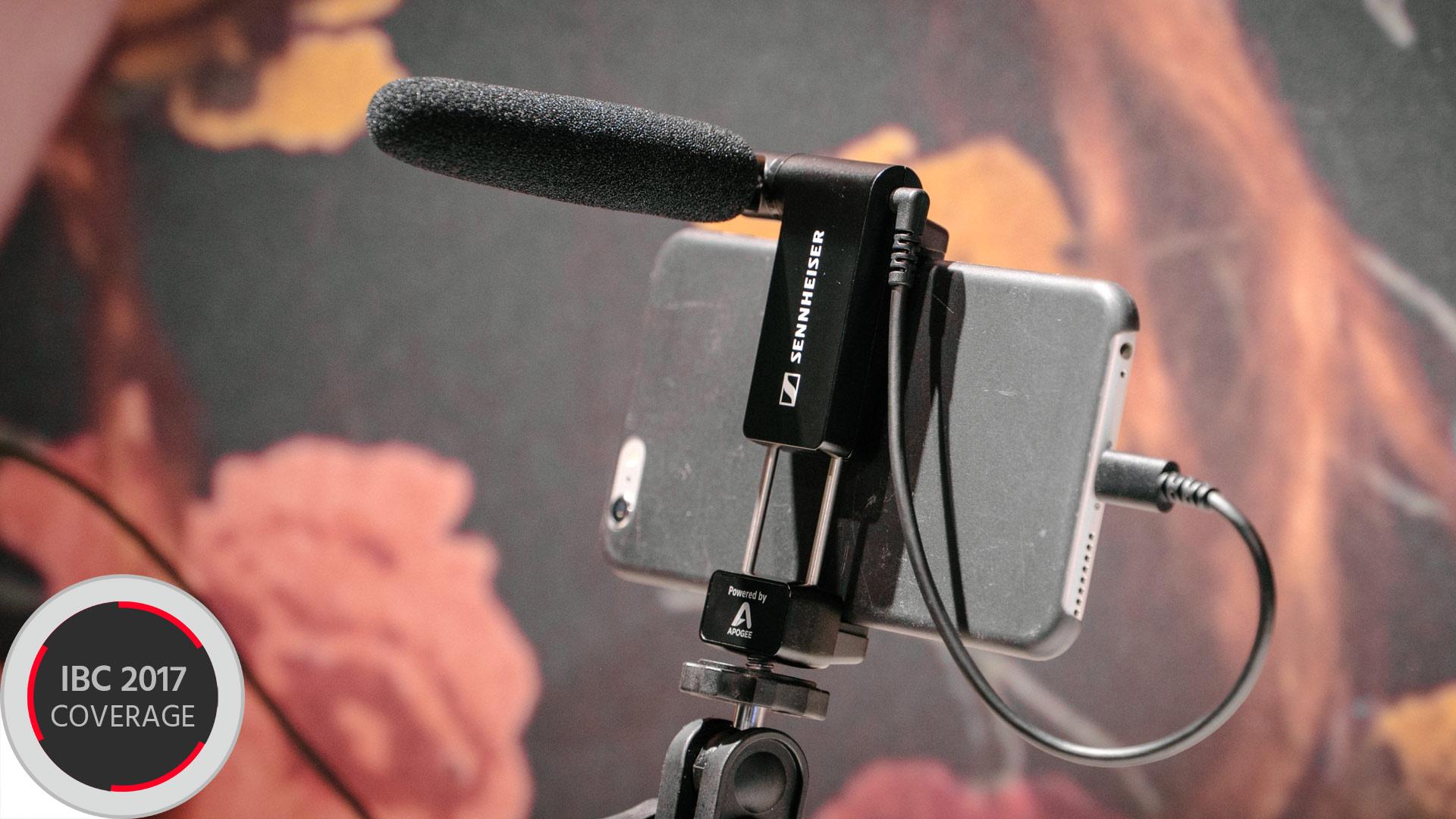 ゼンハイザーがFOCUSMIC Digitalを発表 - iPhone用指向性外部マイク