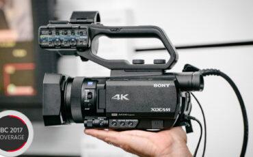 Sony Unveils 3 New 1-inch Sensor Camcorders - AX700, NX80 & Z90