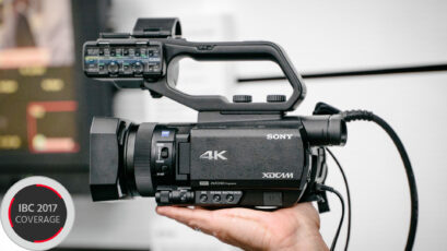 Sony Unveils 3 New 1-inch Sensor Camcorders - AX700, NX80 & Z90