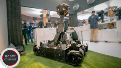 VROX - a 360 Robot with Sony Full Frame Cameras on Wheels