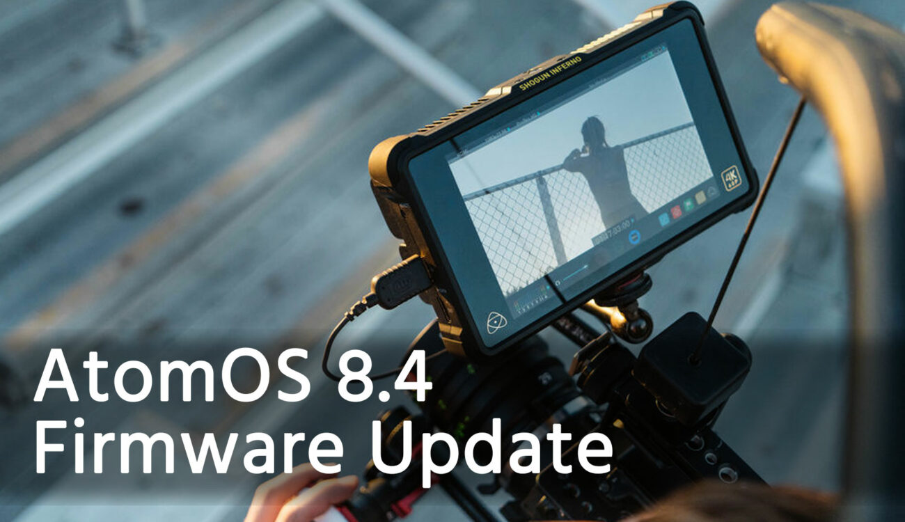 Atomos Free Firmware Update - Making Capturing HDR and HLG Easier Than Ever