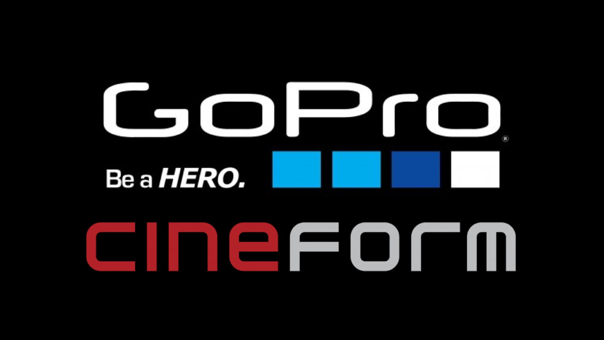 GoProの古くも効率的なCineFormコーデックがオープンソースに