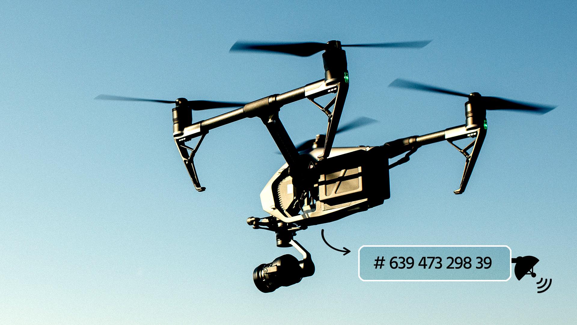 DJIのAeroScope - 飛行制限区域に侵入するドローンを監視
