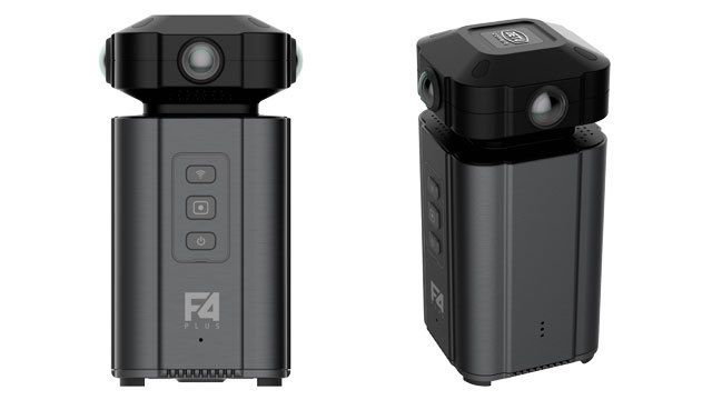 Detu F4 Plus – 8K 360 Camera With Live Streaming Capabilities