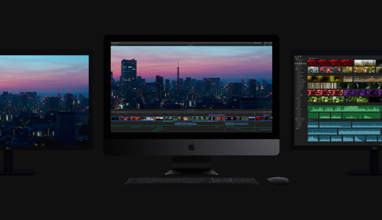 First Look at Final Cut Pro 10.4 and iMac Pro