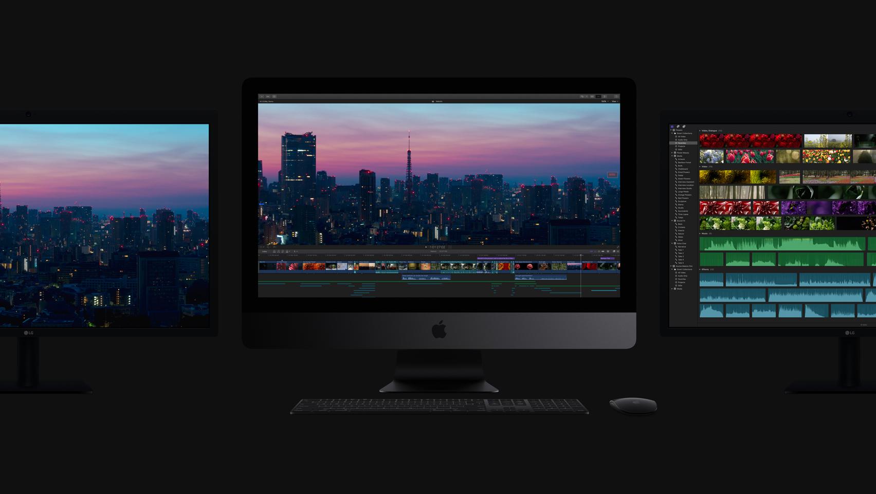 Final Cut Pro 10.4とiMac Proを見る