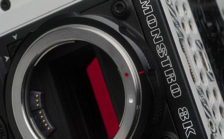 RED Announces MONSTRO 8K VV Full Frame Sensor