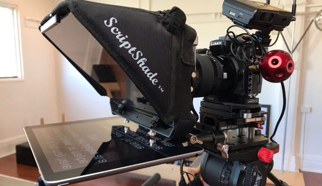Genustech ScriptShade Mattebox - A Teleprompter for Content Creators