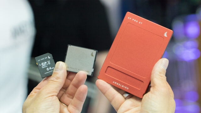 Angelbird Ups Its Game with SD, CFast and SSD