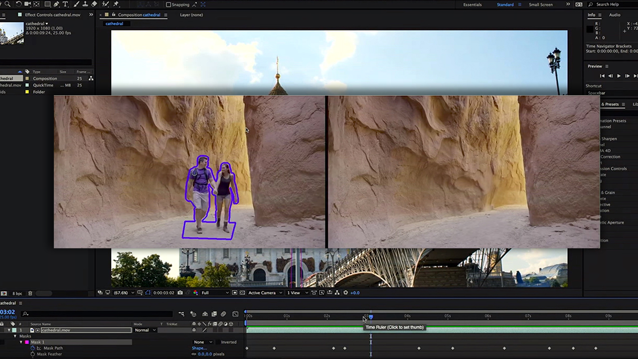 Adobe Cloak - 動画から不要な映り込みを削除する夢のツール