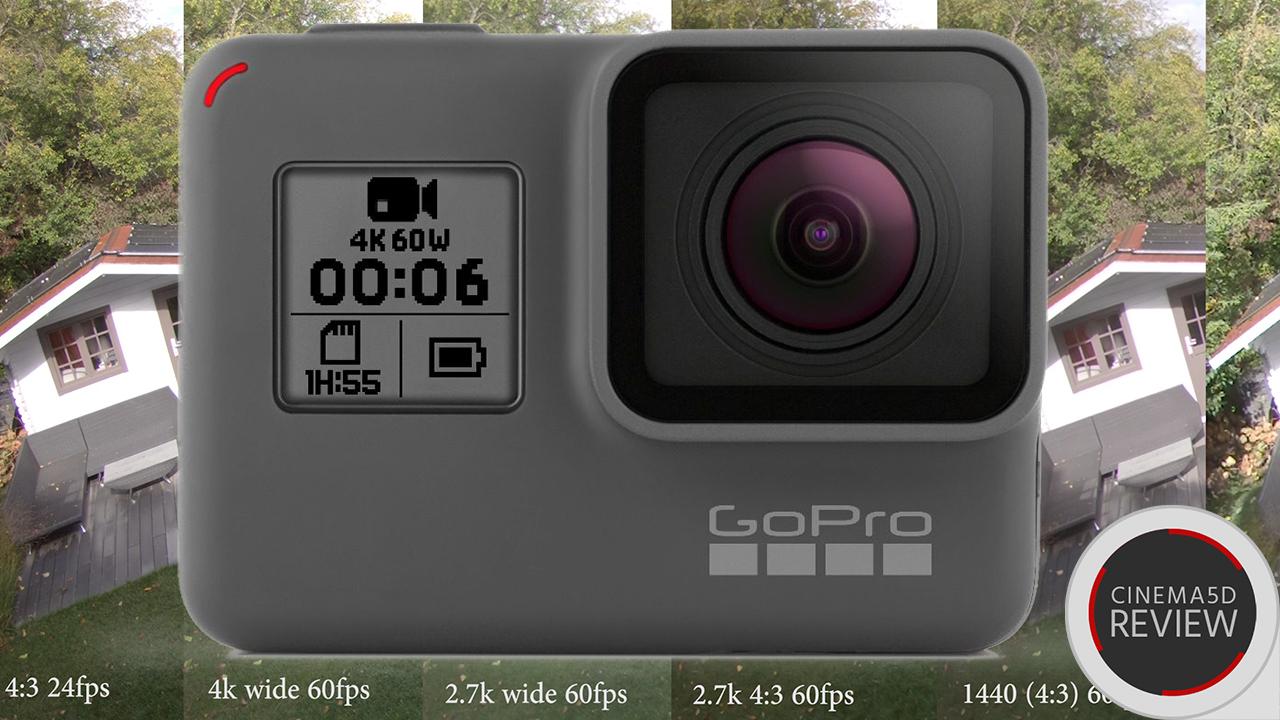 GoPro Hero 6レビュー - モードによる画質の違いを見る