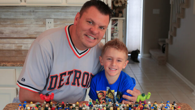 Animated Brick Builders: A Father-And-Son Dynamic Duo