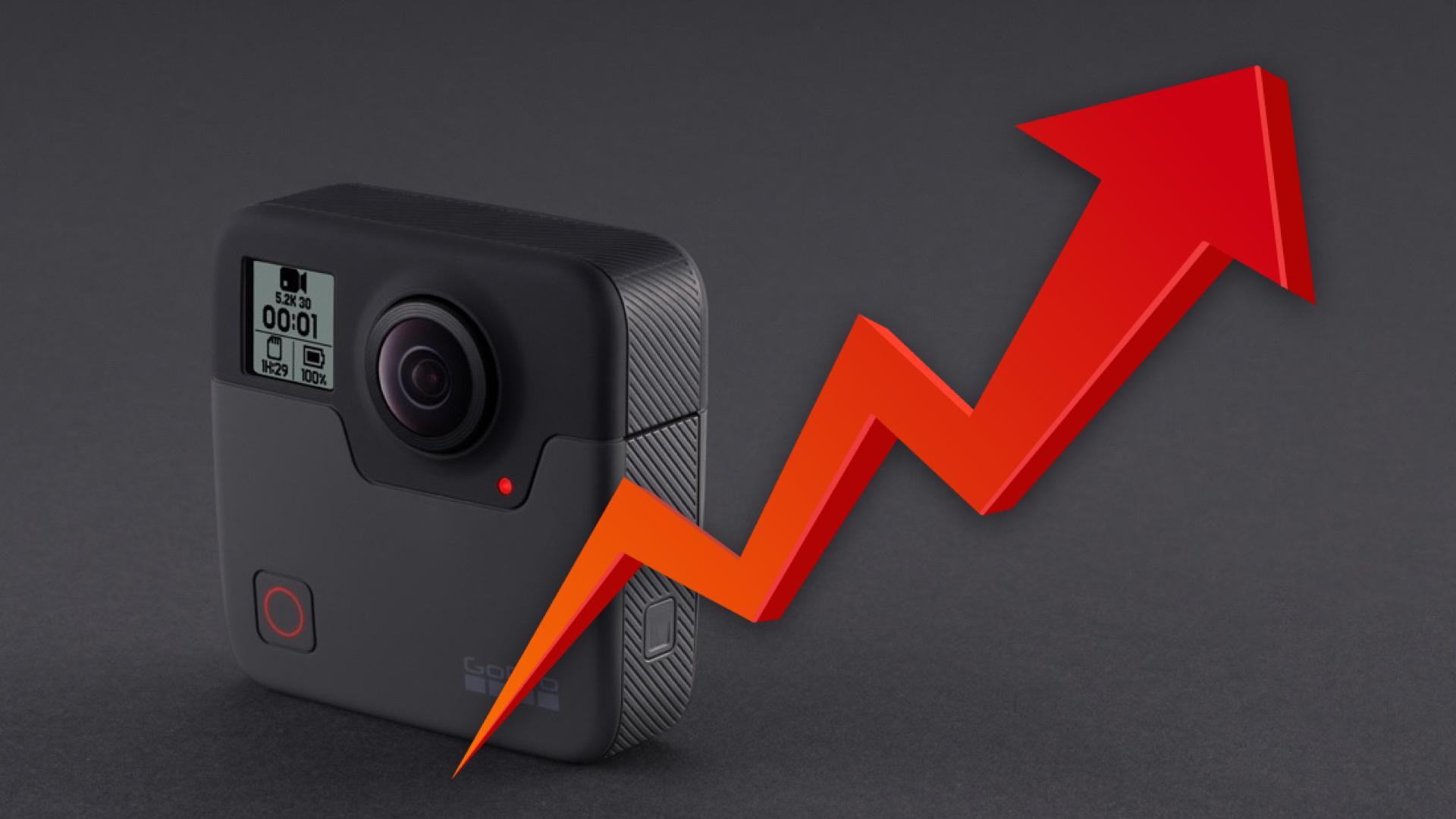 GoProが復活 - 新製品で再び高成長、高収益に