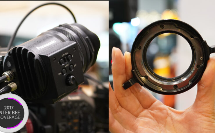 New EF-PL Adapter & The Varicam EVF For Your Panasonic EVA1