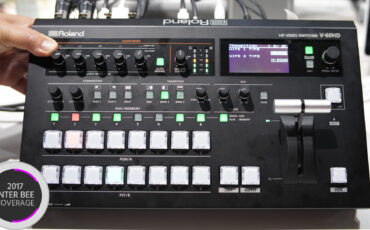 The New Roland V-60HD Switcher Uses Your Smartphone For Wireless Tally