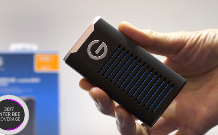 A Fast G-Drive SSD R is All You Need When Editing on the Go