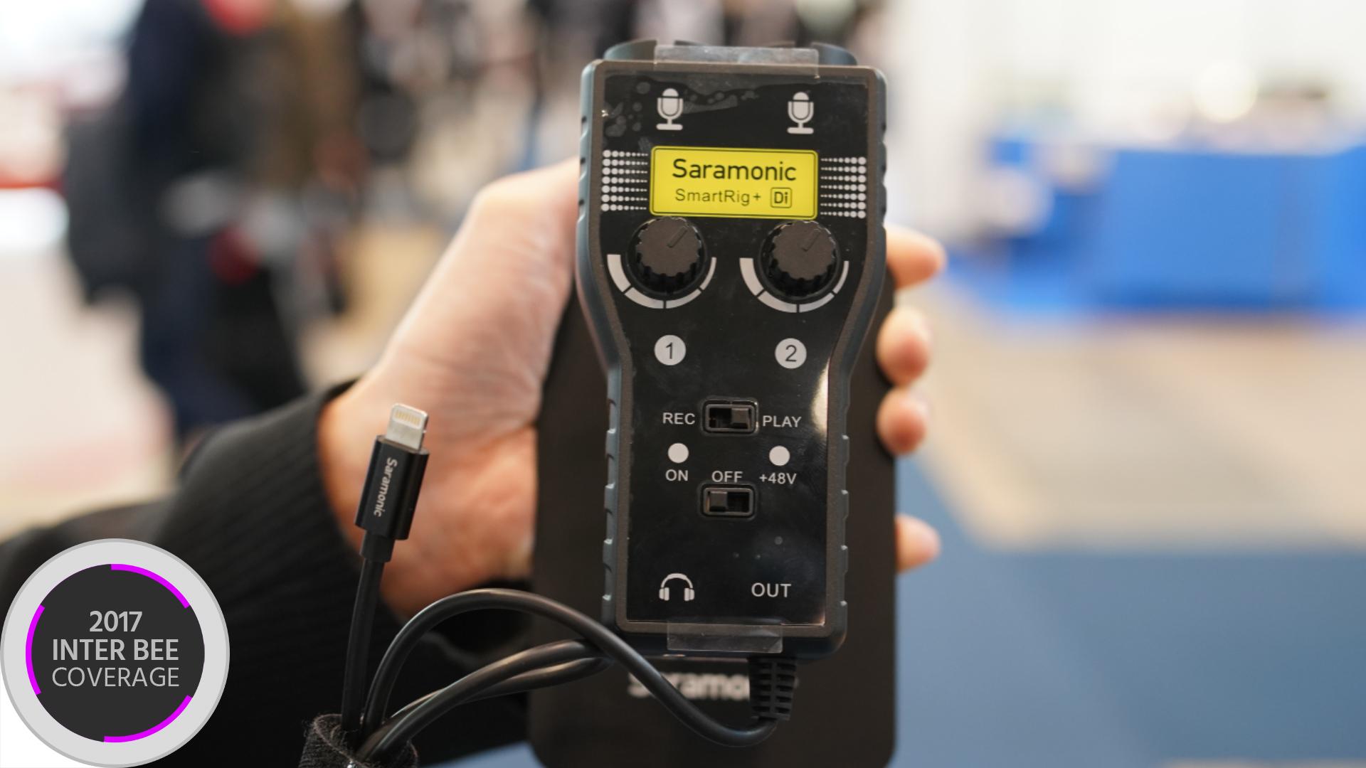 SaramonicがSmartRig+ DiをiPhone X用に発表