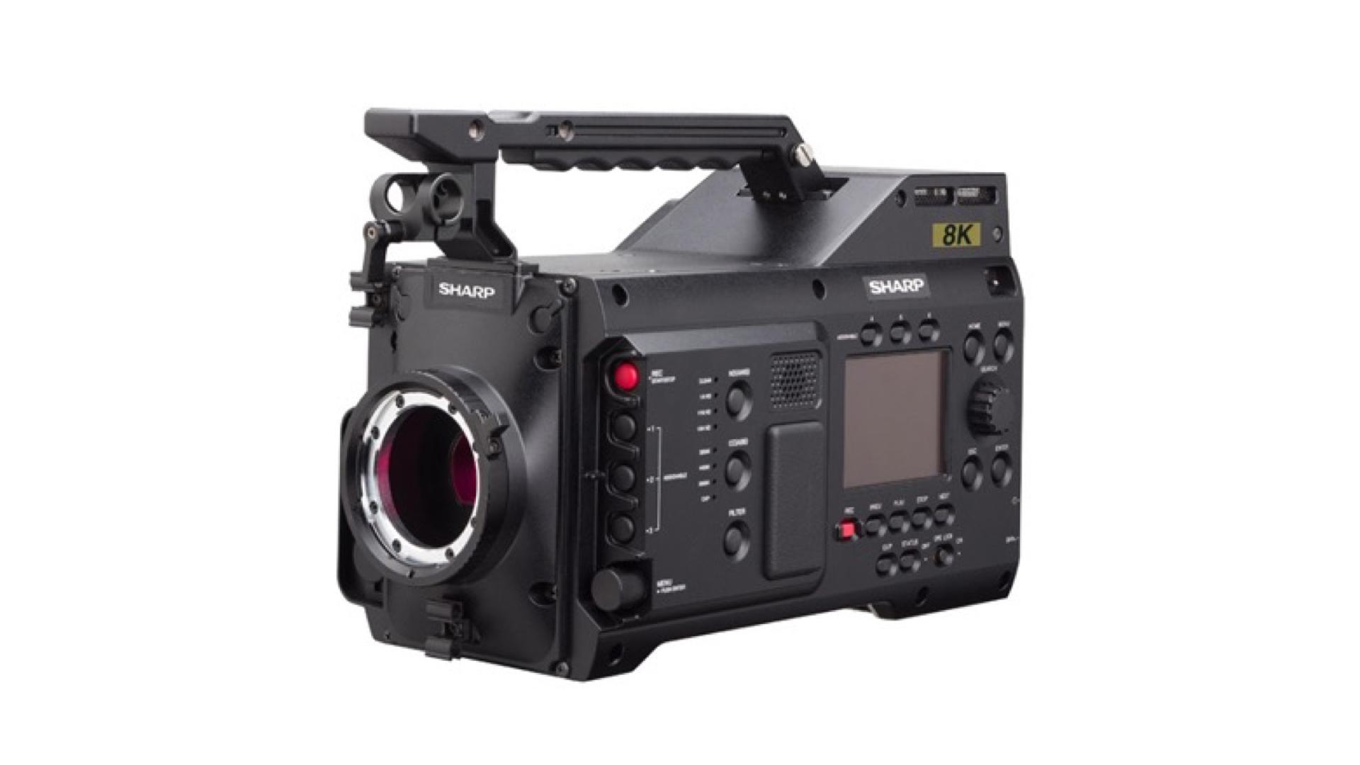 sharp 8k professional camcorder announced   cinema5d