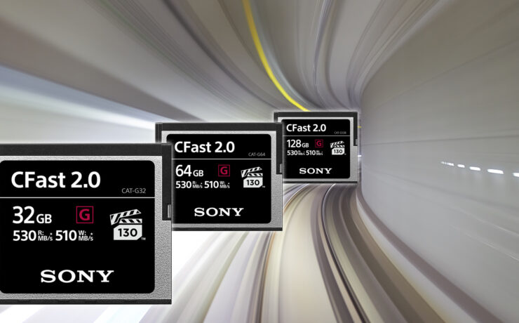 Get Even More Speed With These New Sony CFast 2.0 Cards