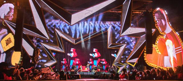 Blackmagic URSA Mini Pro Robbie Williams Tour