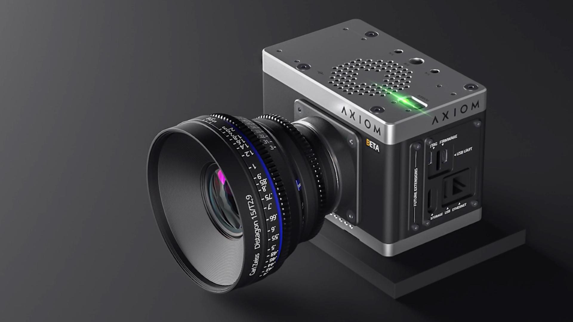 AXIOMオープンソースシネマカメラ - 新しいデザインとレコーディングソリューションを発表